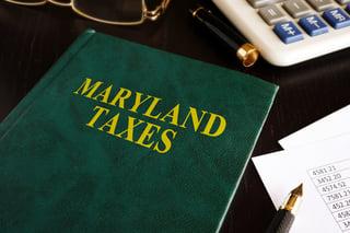 Maryland Taxes Image